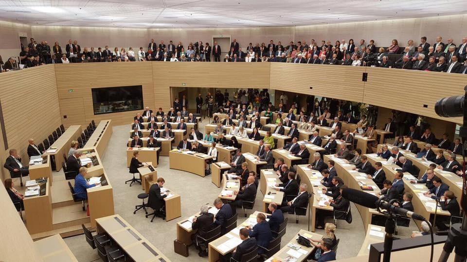 1. Sitzung der 16. Wahlperiode des Landtags.